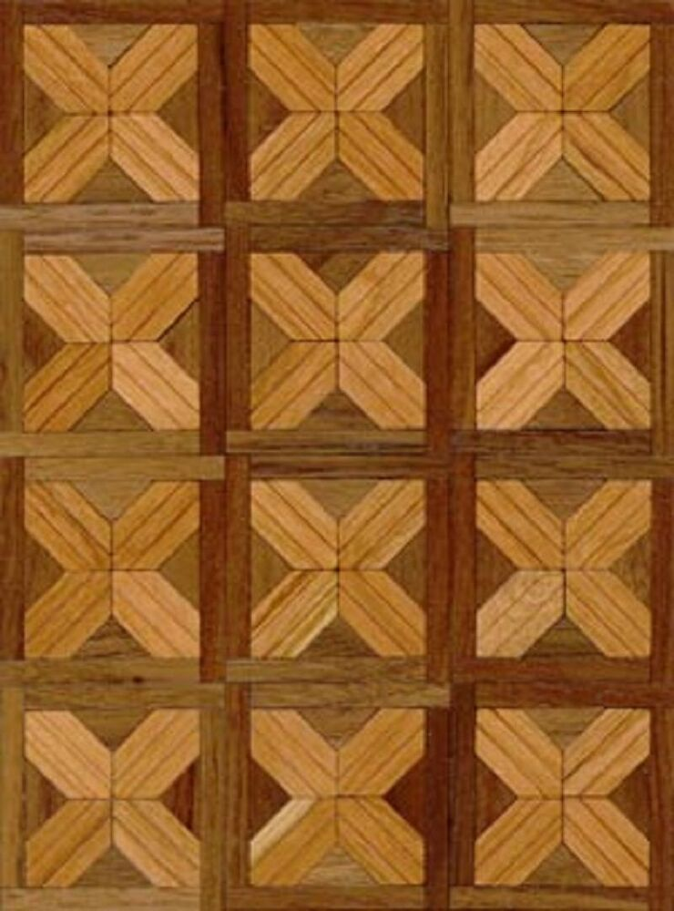 Vichy cherry wood dollhouse miniature flooring kit ebay for Printable flooring