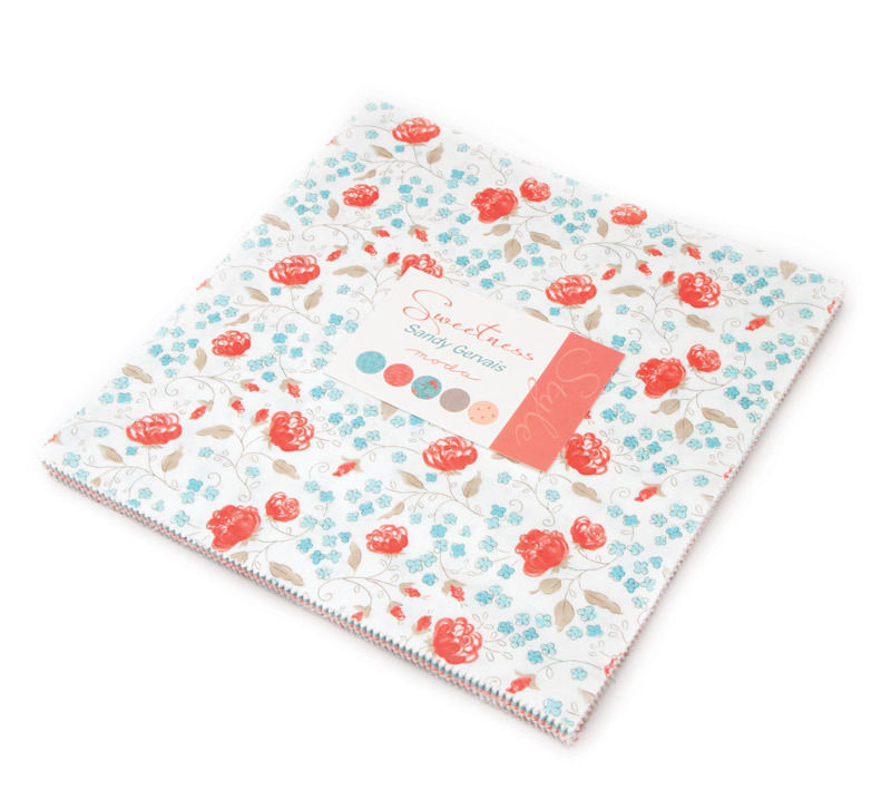 Moda Fabric Layer Cake Sweetness By Sandy Gervais 10