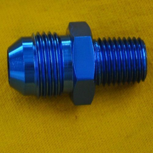 Straight adapter an to npt fitting ebay