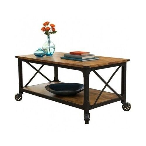Rustic Coffee Table Country Western Decor Vintage Antique
