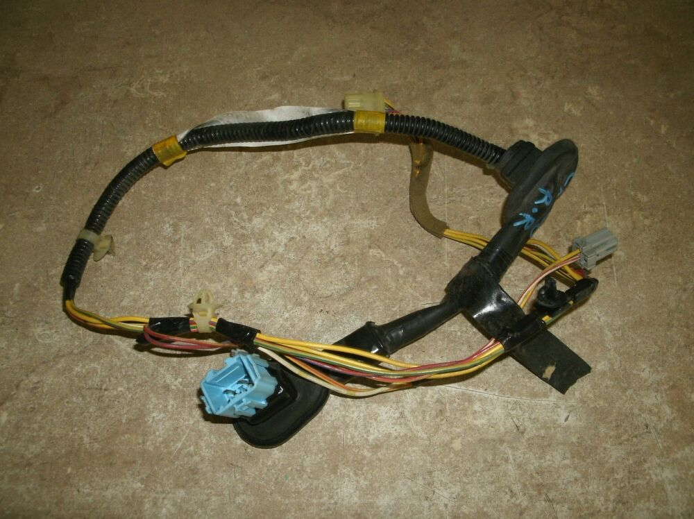 Honda crv cr v right rear door wire harness ebay