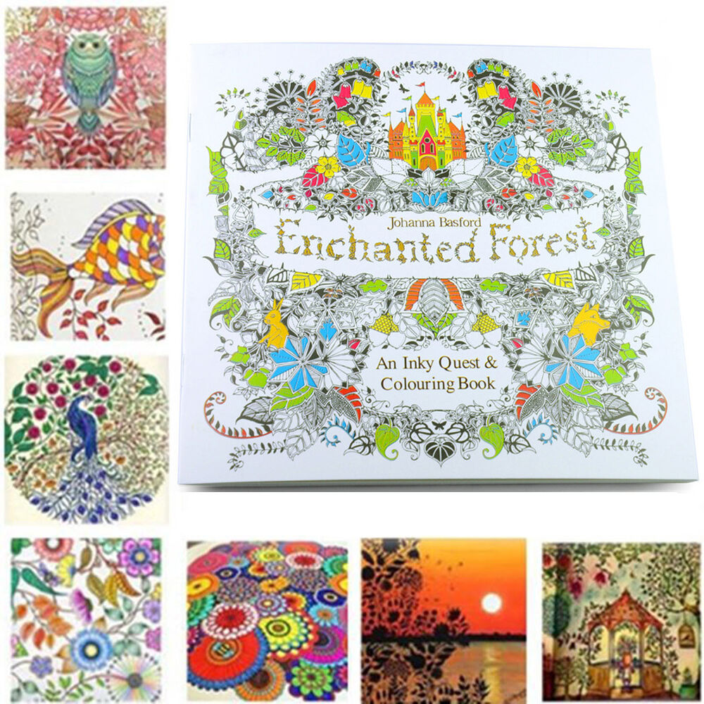 Welcome Enchanted Forest An Inky Quest Amp Colouring Book By