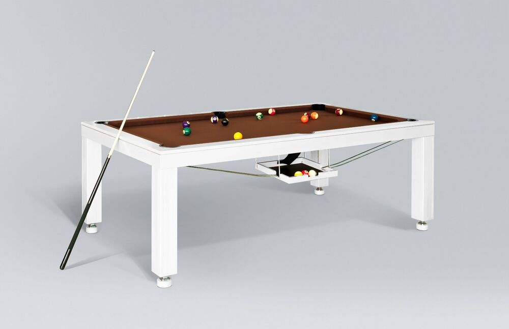 8 39 convertible pool billiard table slate 3 in 1 dining for 1 slate pool table