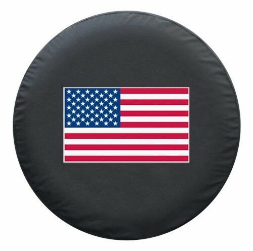 33 Quot American Flag Tire Cover Hummer H3 Ebay