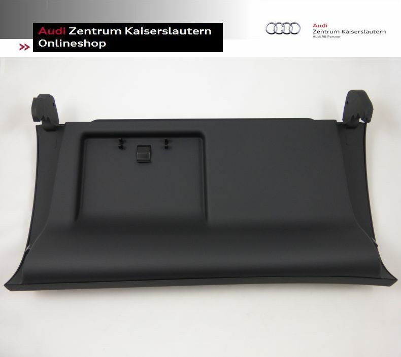 audi a4 s4 rs4 original handschuhfach deckel schwarz soul. Black Bedroom Furniture Sets. Home Design Ideas