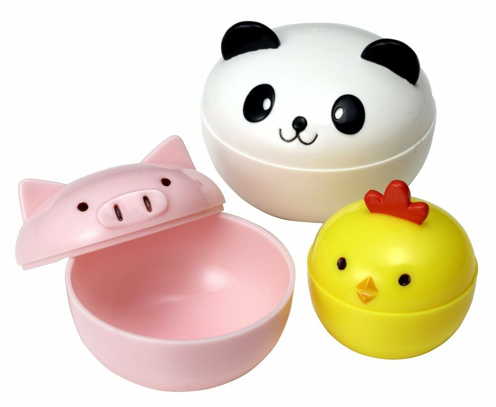 torune japanese mayo mini cups for bento box lunch panda chick pig 15c 9208 ebay. Black Bedroom Furniture Sets. Home Design Ideas