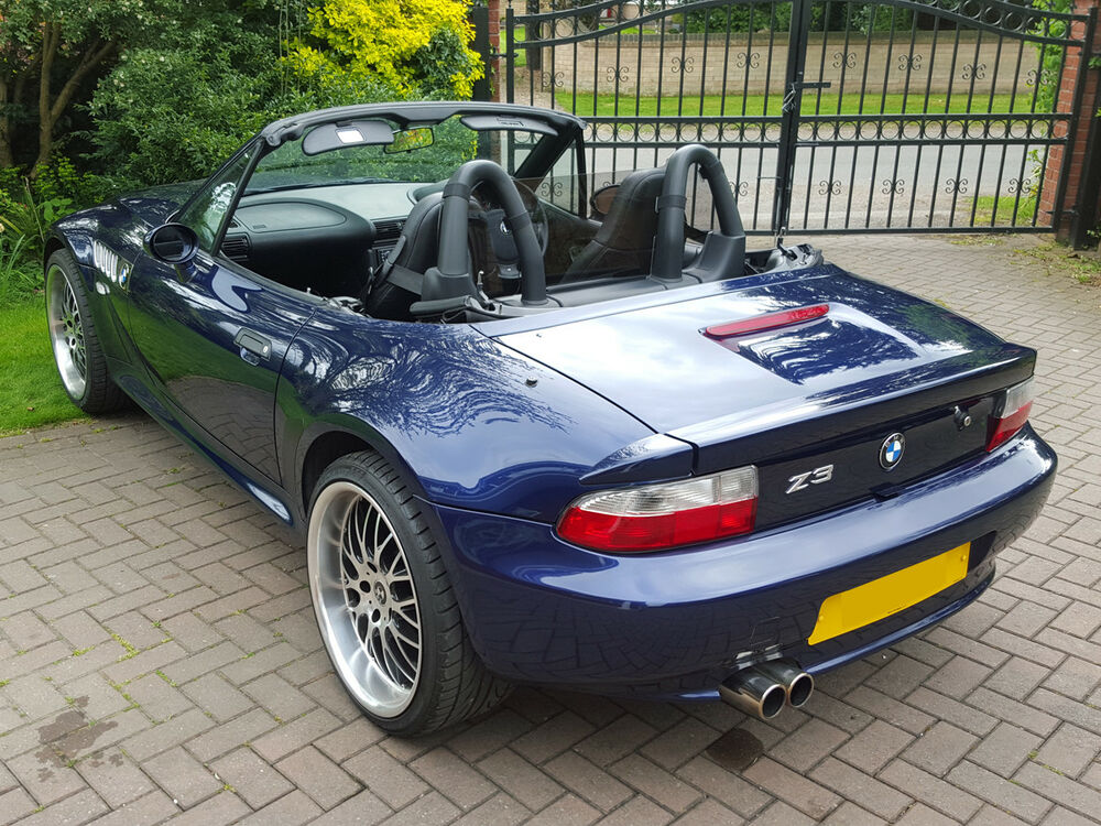 Bmw Z3 Wind Deflector Tinted To Fit Standard Roll Bars Ebay