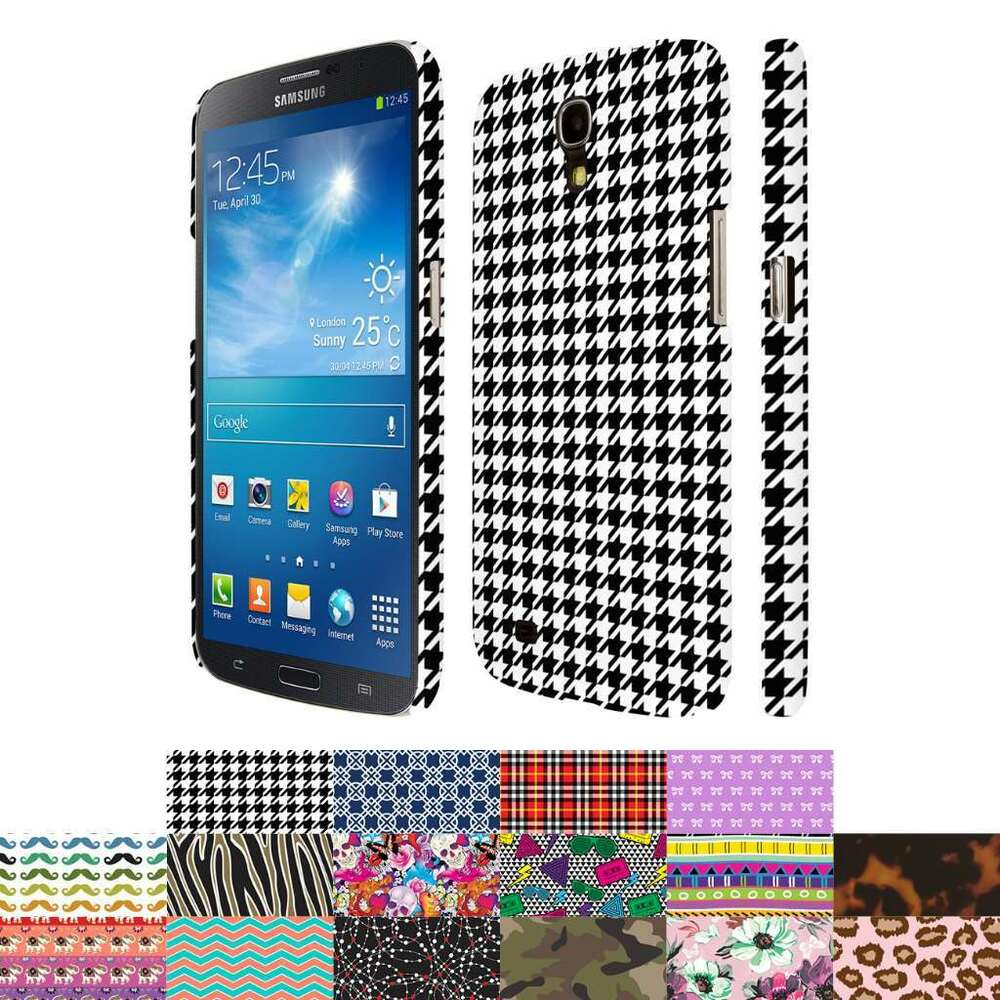 For Samsung Galaxy Mega 6.3 Design Patterns Ultra Thin Hard Case Cover ...