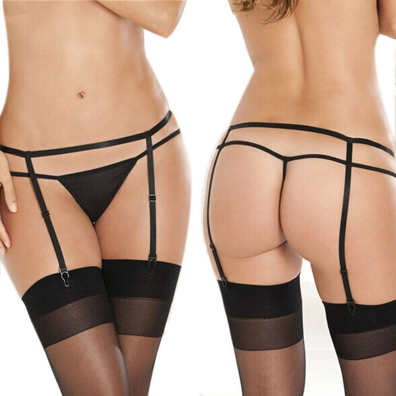 how to wear suspenders with stockings