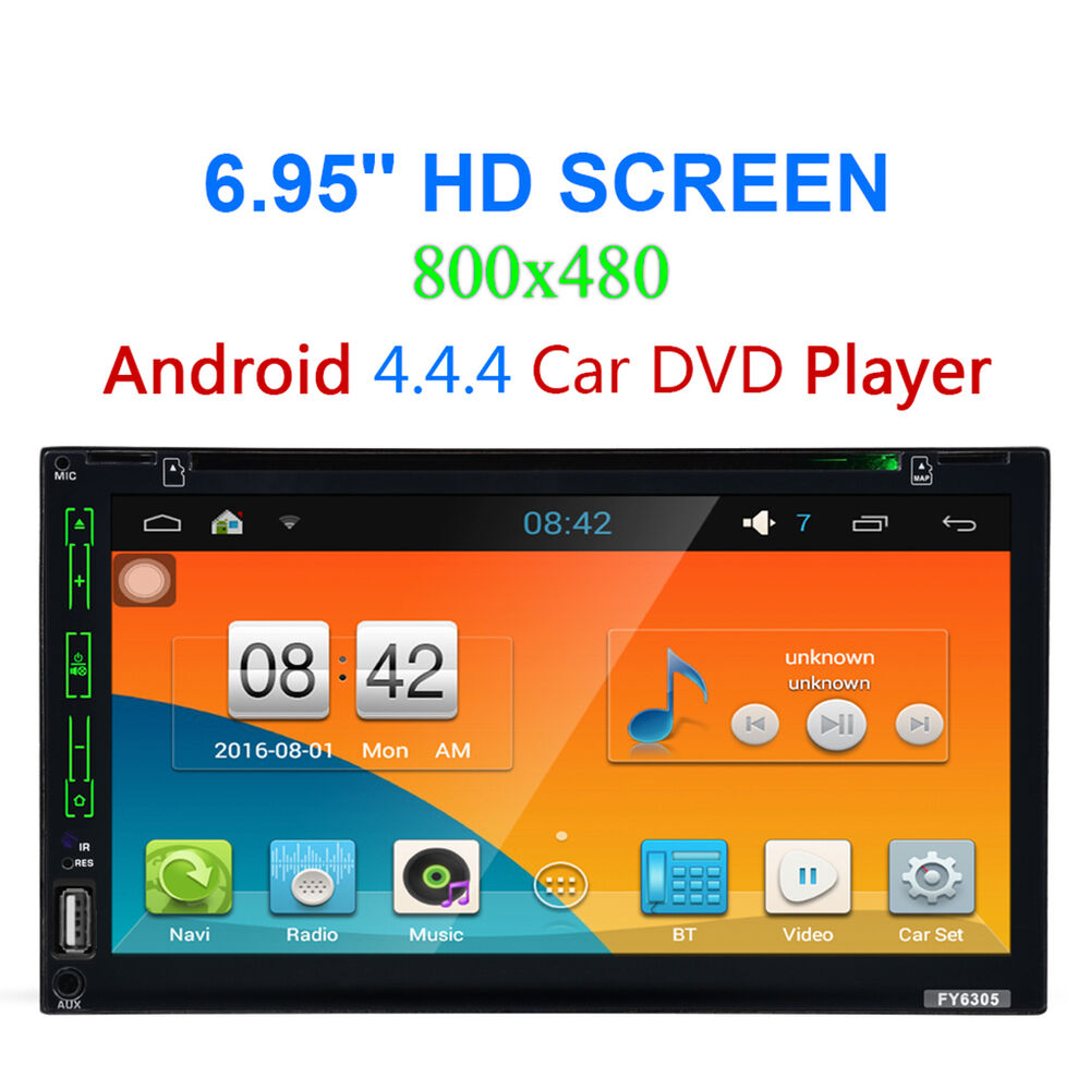 2 din autoradio android bluetooth car gps stereo. Black Bedroom Furniture Sets. Home Design Ideas