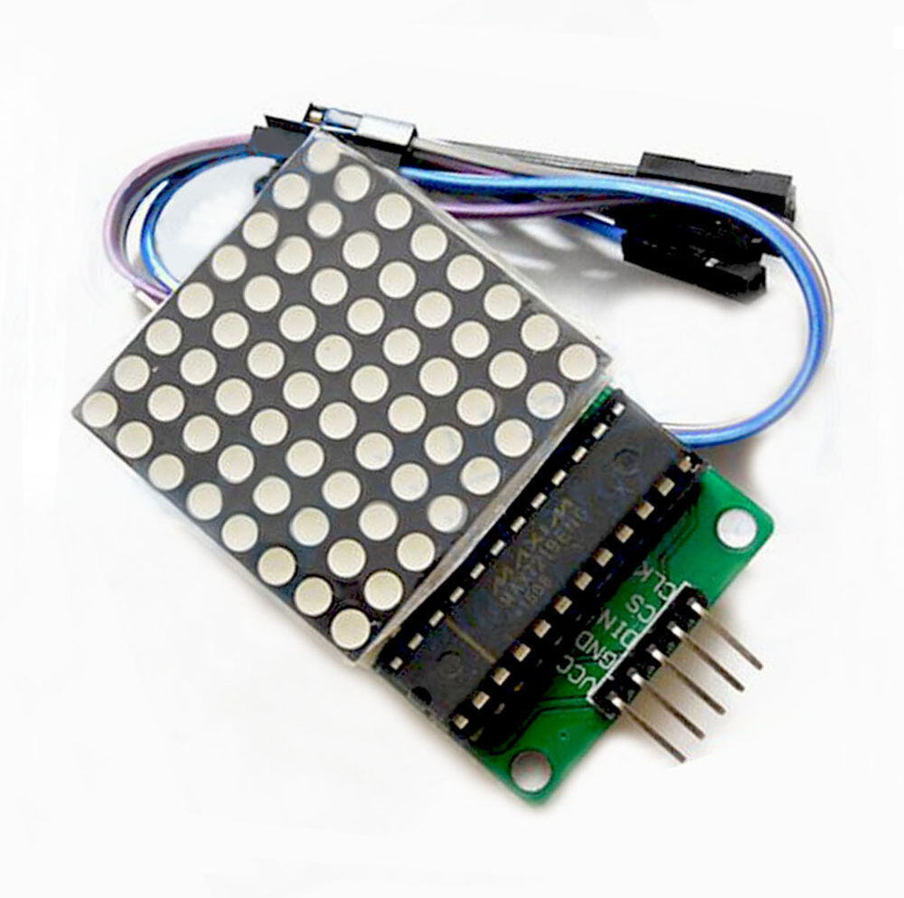 Max dot led matrix module mcu control display