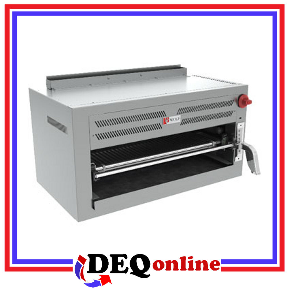 Wolf C36irb Gas Infrared Salamander Broiler Stainless
