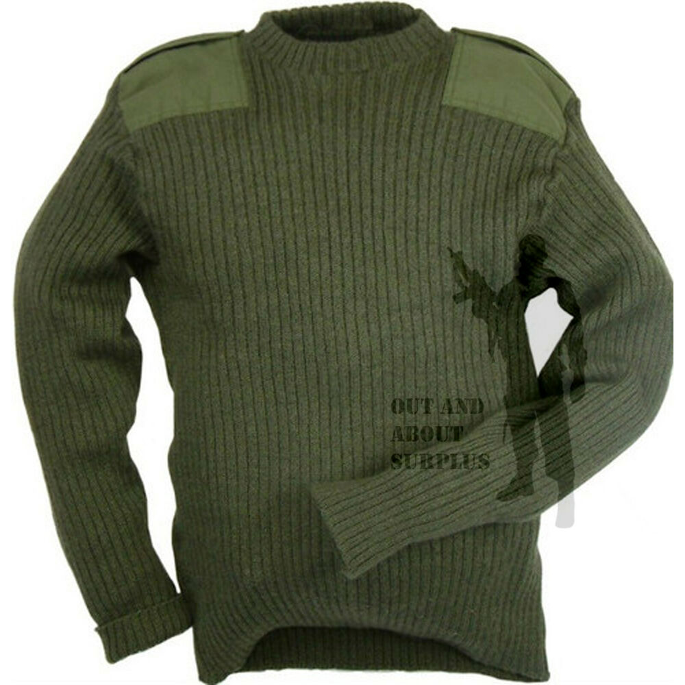 Wool Commando Sweater