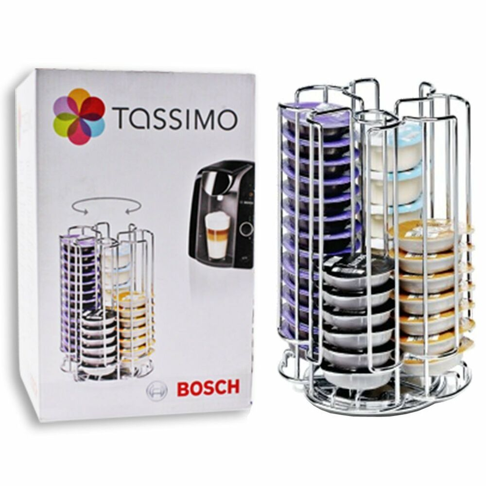 genuine bosch tassimo 52 t disc pod capsule coffee storage holder ebay. Black Bedroom Furniture Sets. Home Design Ideas