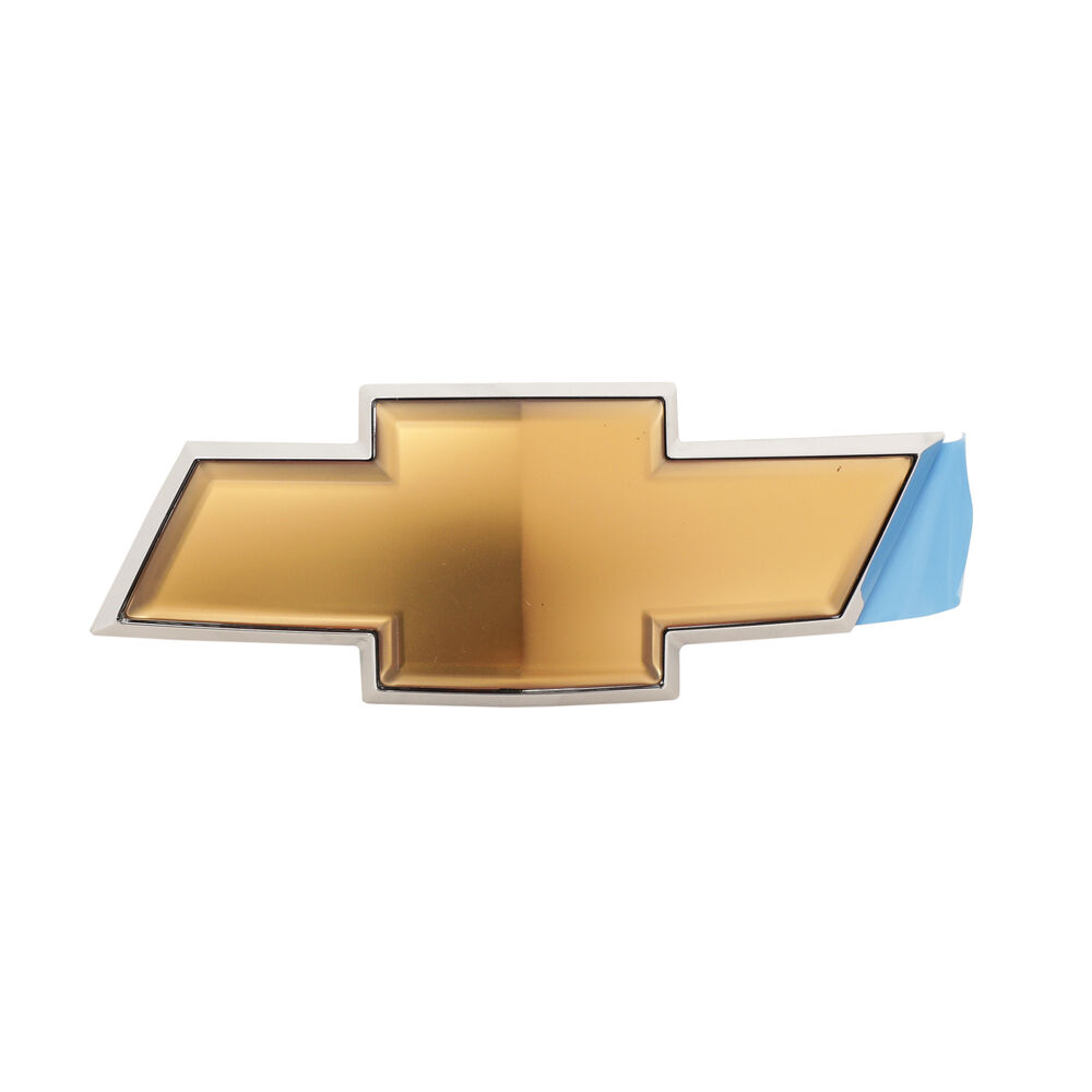 oem new rear liftgate bow tie emblem gold 12 15 captiva. Black Bedroom Furniture Sets. Home Design Ideas