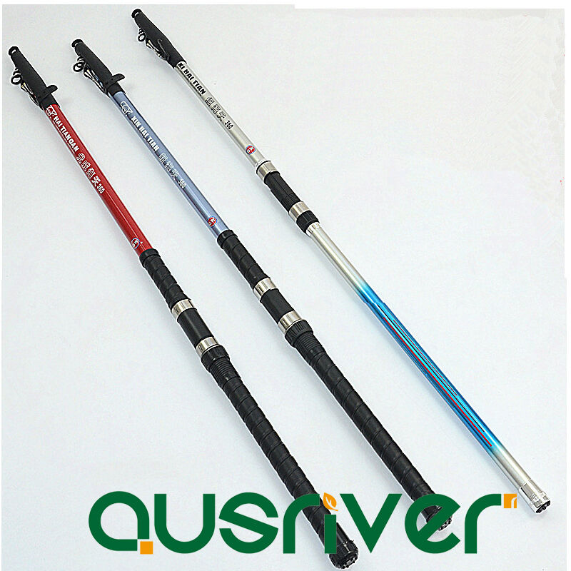 3 6 4 5m adjustable portable strong casting fishing rod