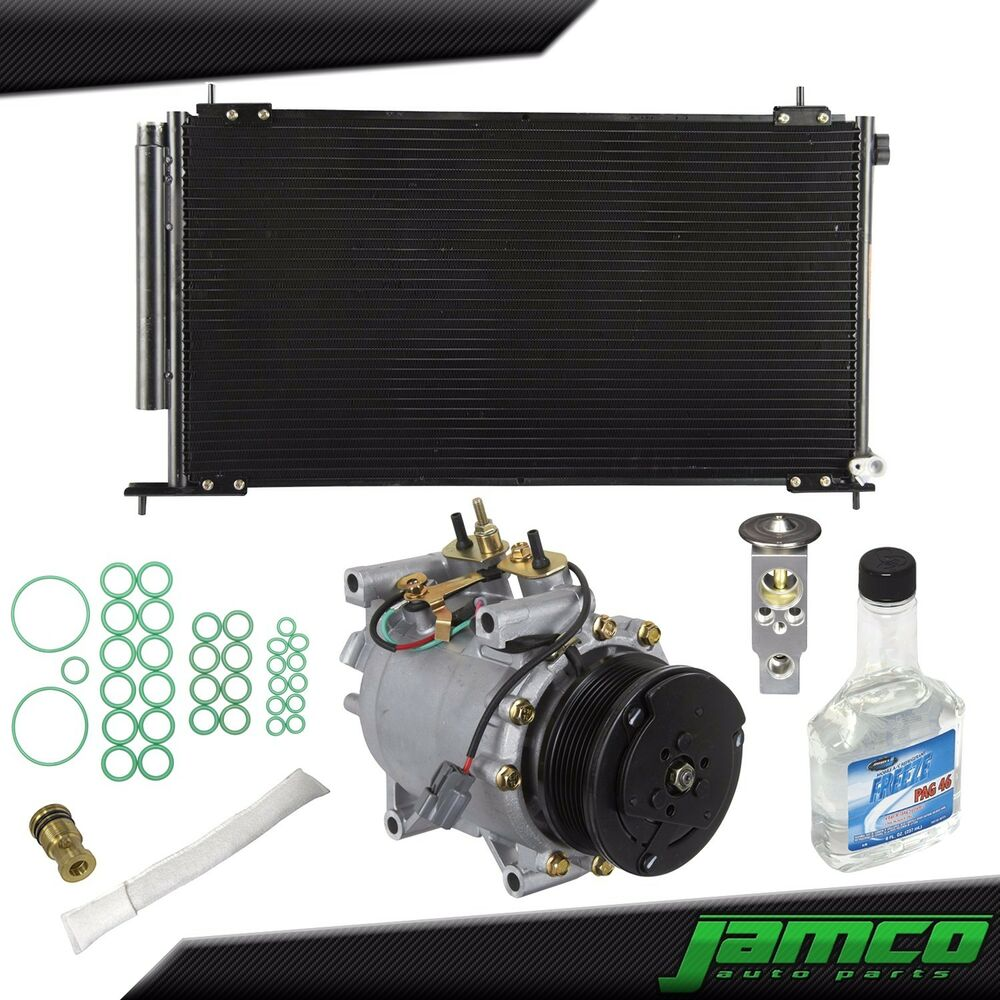 new major ac repair kit compressor condenser for 02 06