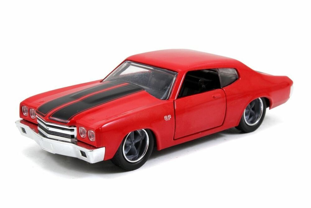 JADA DOM'S CHEVROLET CHEVELLE SS RED FAST & FURIOUS 1/32 ...