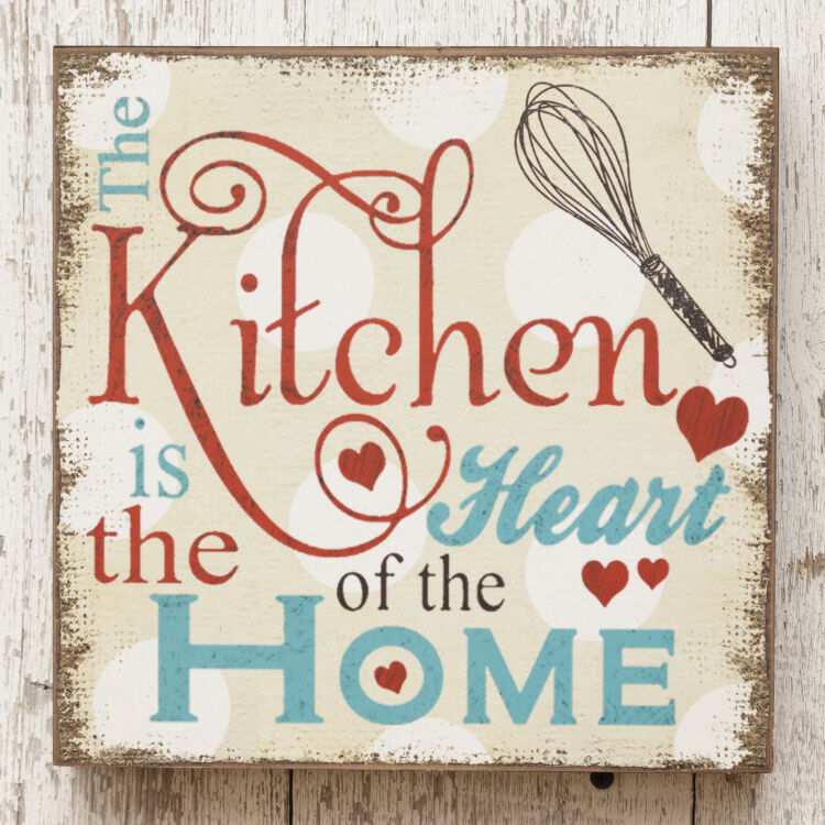 New Retro Vintage Farmhouse Diner KITCHEN HEART OF HOME