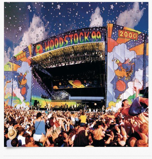Woodstock 99s frozen galleries 54