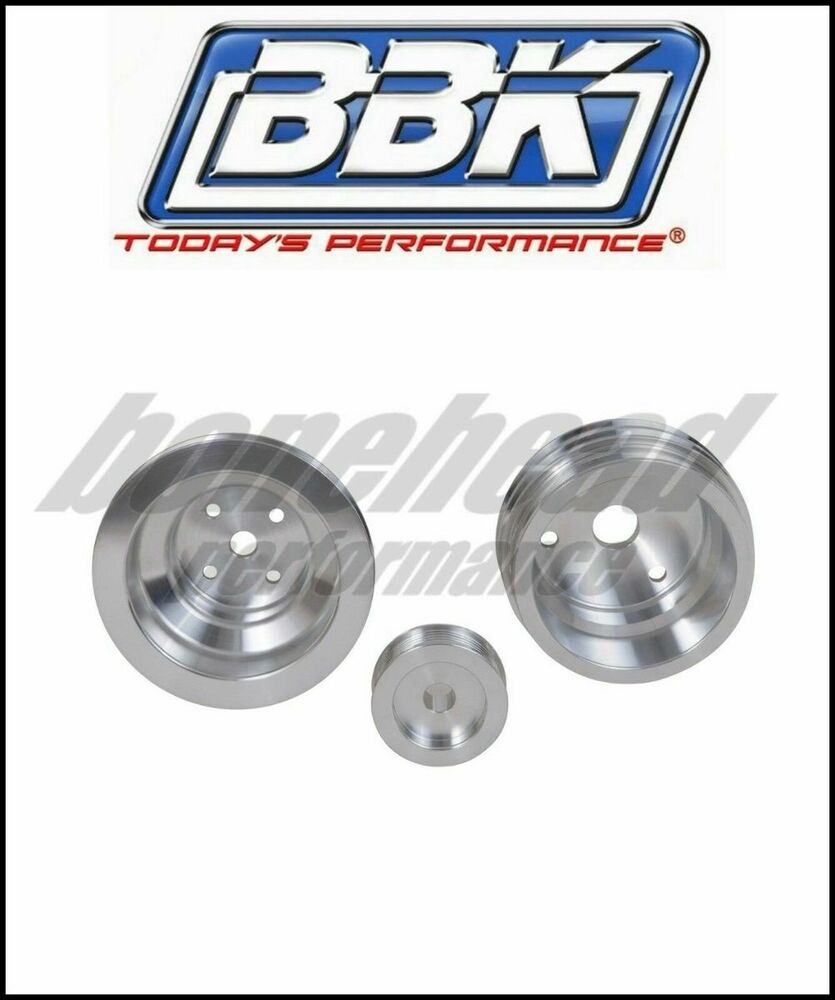 BBK Performance Underdrive Pulley Kit 1985-1987 Chevy