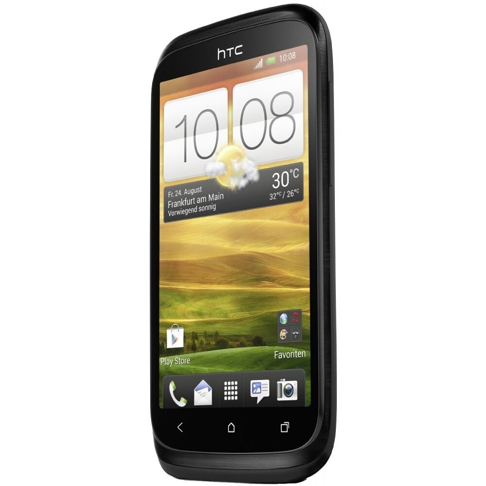 htc desire x t328e 4gb black android smartphone handy ohne. Black Bedroom Furniture Sets. Home Design Ideas