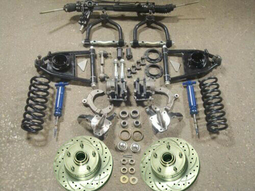 Mustang Ii 2 Suspension Kit Power Stock Spindles Chevy