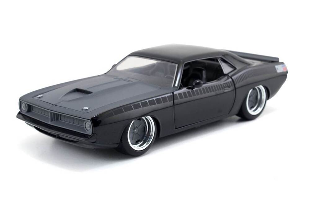 Dodge Charger List >> Jada Toys Fast and Furious 1:24 Letty's Plymouth Barracuda Diecast Car Display | eBay