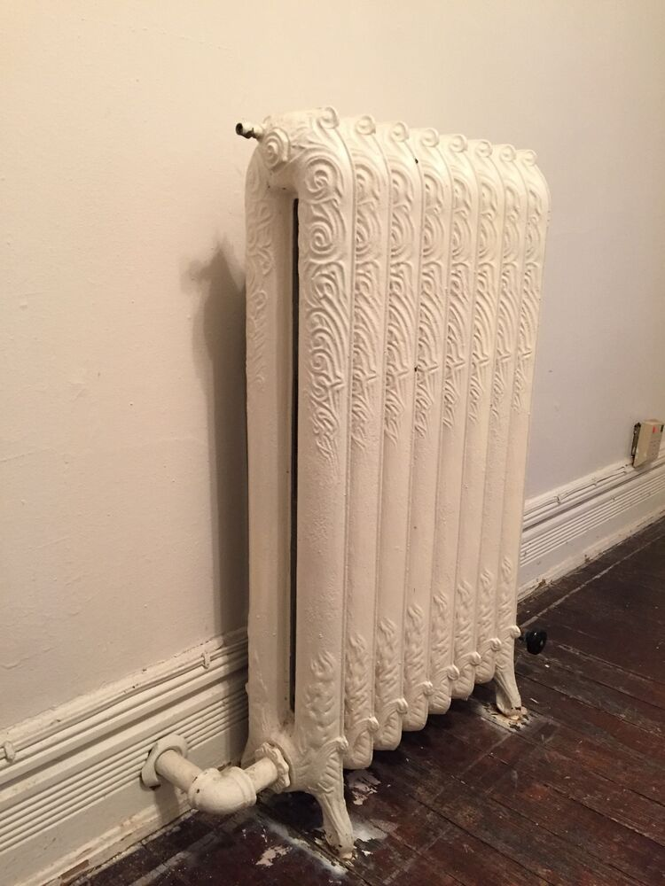 Ornate Cast Iron Radiator 8x2colomn 7 Quot Dx20 5 Quot Wx37 5 Quot H