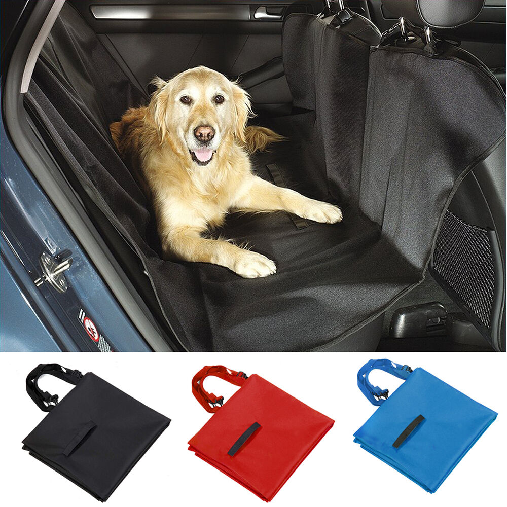 Didog Pet Dog Car Back Seat Covers Waterproof Rear Bench