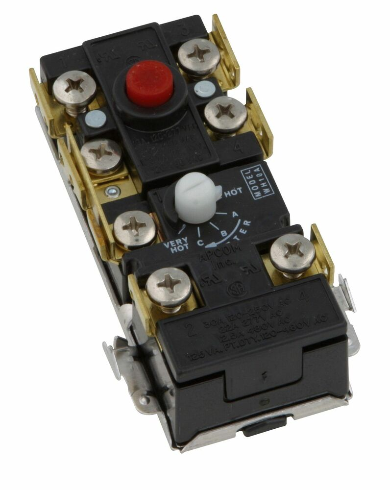 Upper Electric Hot Water Heater Thermostat 2 Element