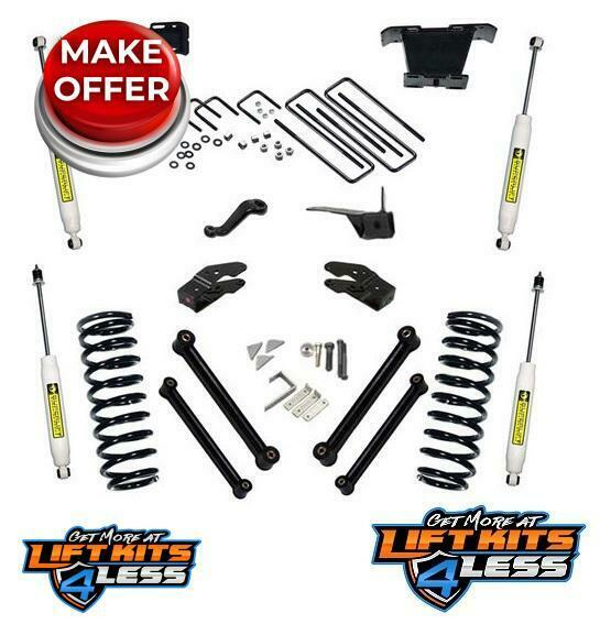 "Rough Country 346 23 Ram 2500 3500 Suspension Lift Kit 5: SuperLift K336 5"" Suspension Lift Kit 2000-2002 Dodge Ram"