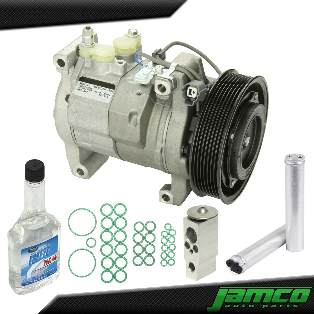 New ac compressor kit a c for 03 07 honda accord 2 door for Honda accord 4 cylinder