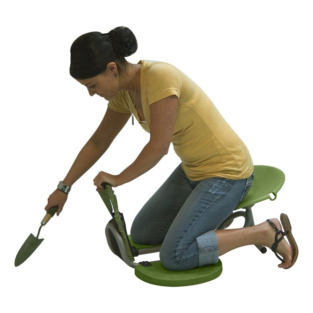Vertex easy up kneeler gardening seat for pruning weeding of garden ebay for Gardening tools for the elderly