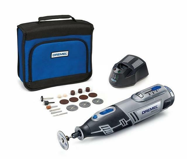 dremel 8200 1 35 10 8 volt cordless rotary multi tool with. Black Bedroom Furniture Sets. Home Design Ideas