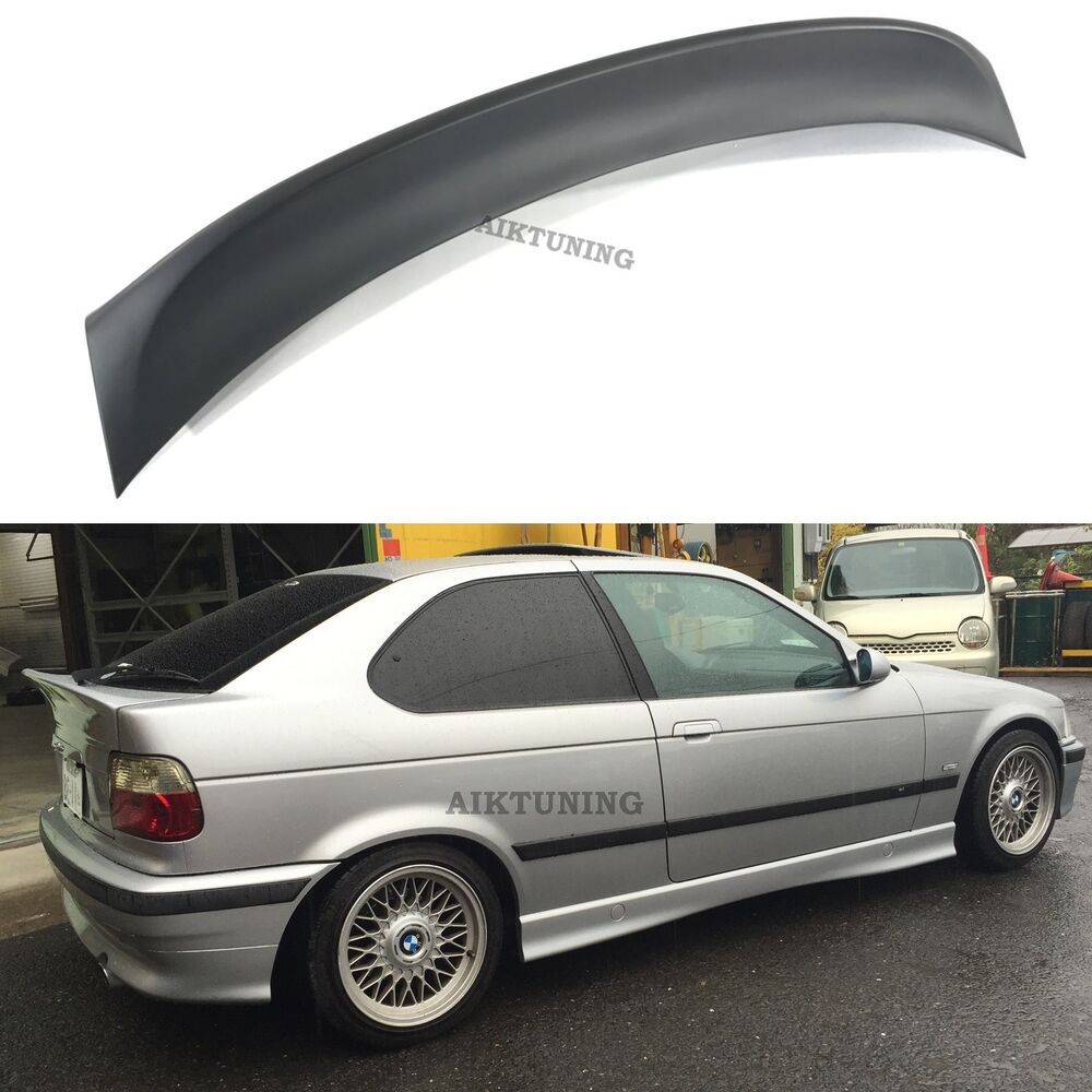 bmw e36 csl rear boot lid trunk spoiler ducktail wing lip. Black Bedroom Furniture Sets. Home Design Ideas
