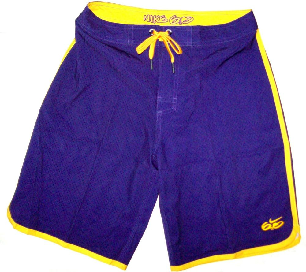 Youth Boy's Nike 6.0 The Gym Board Shorts Boardshorts LA ...