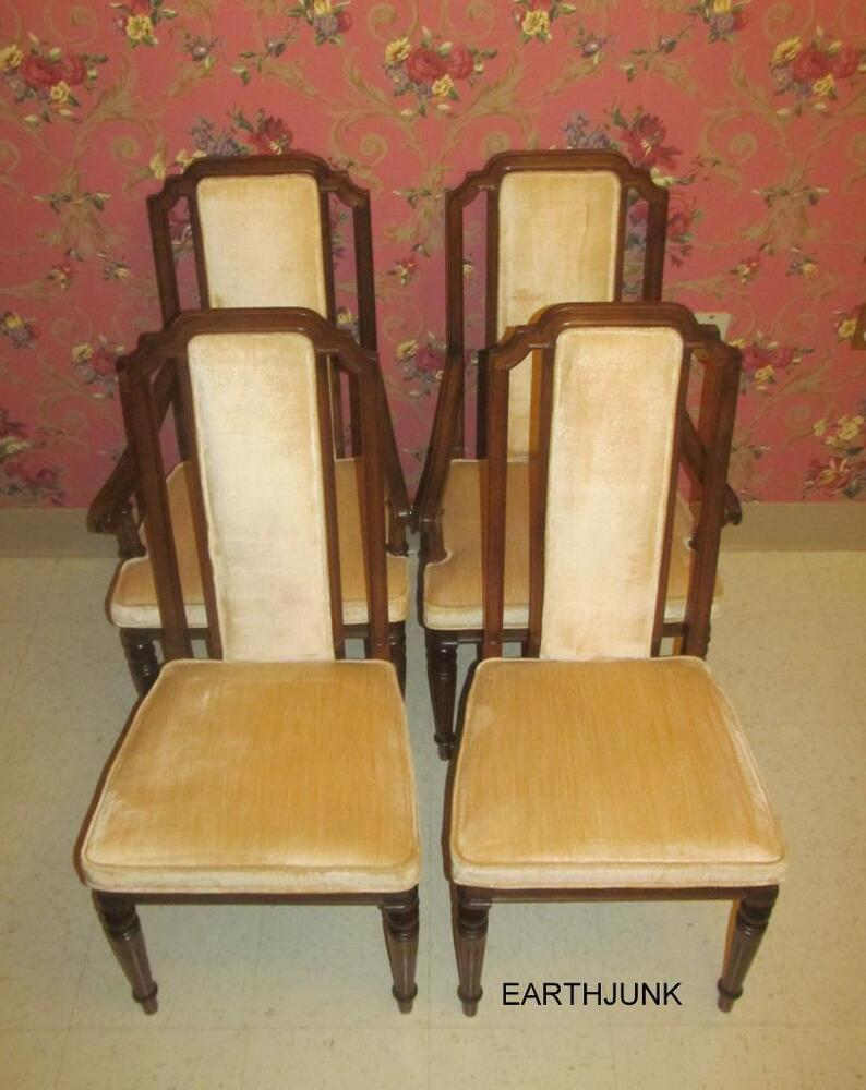 Ethan Allen Classic Manor Upholstered Dining Room Chairs  : s l1000 from www.ebay.com size 794 x 1000 jpeg 77kB