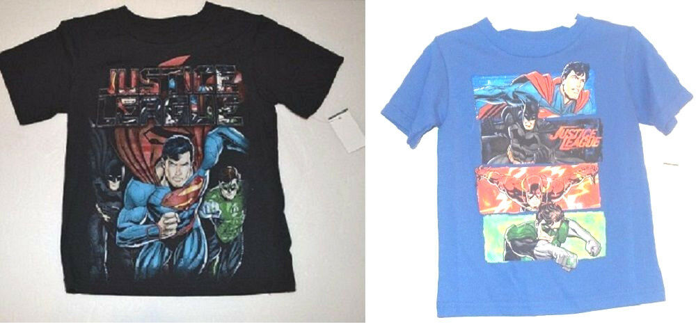 Dc Comics Justice League Toddler Boys T Shirts Size 18m