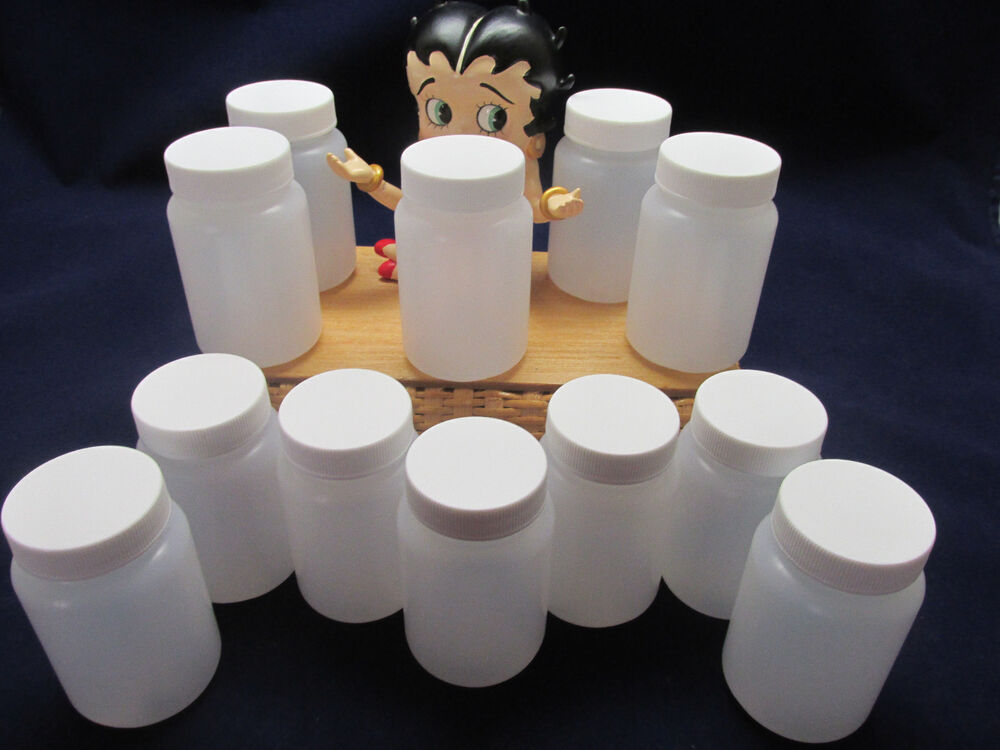 50 3oz Spice Plastic Jars Bottles Containers Empty Free