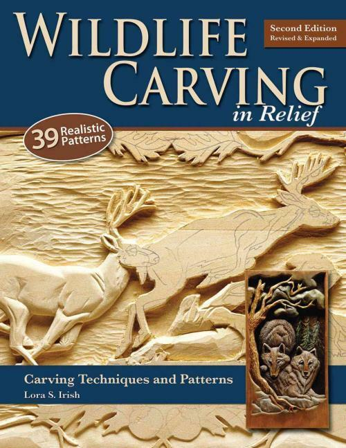 Wildlife carving in relief lora s irish paperback new
