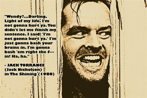 Image result for the shining movie poster