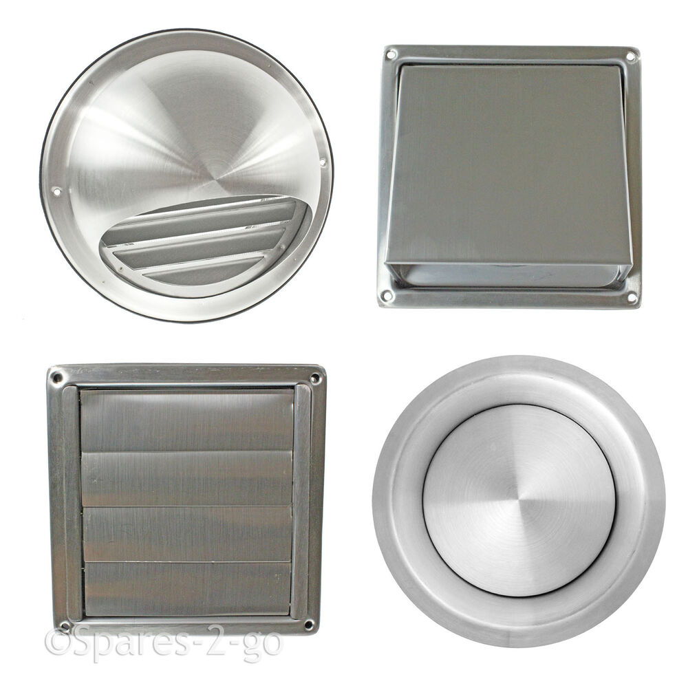 Stainless steel wall air vent metal cover outlet exhaust