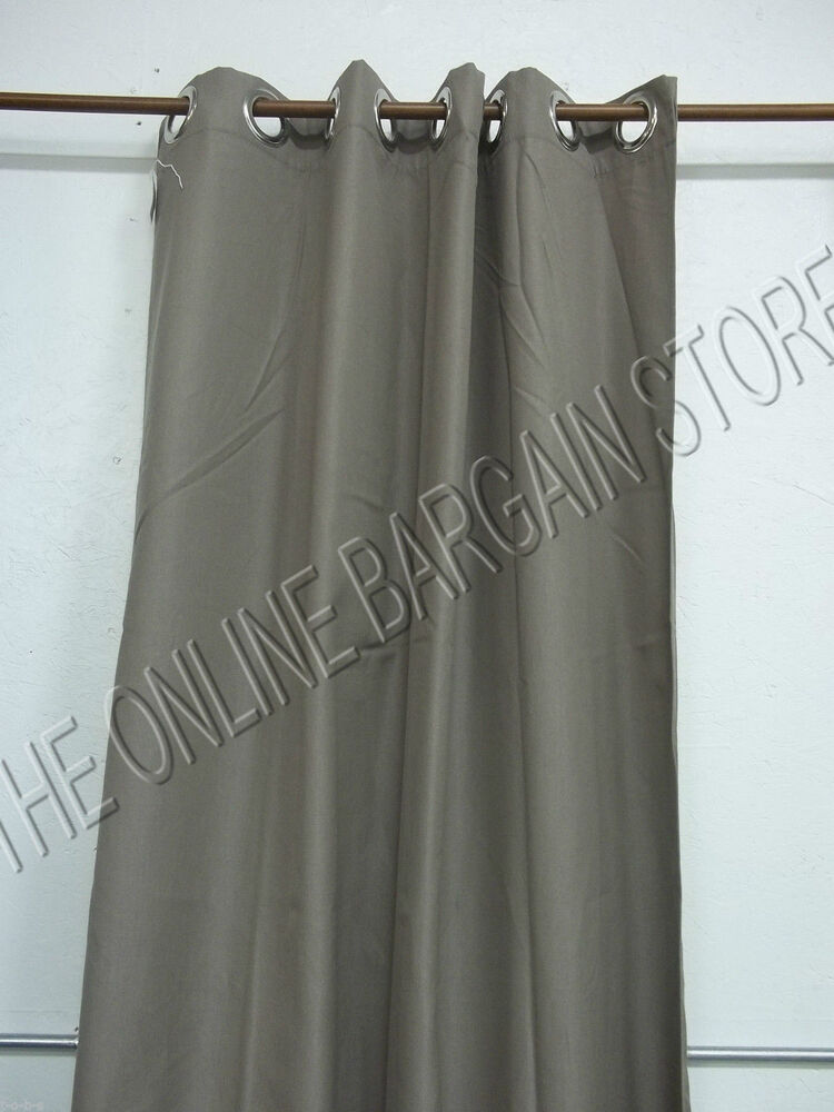 Ballard Designs Outdoor Curtains Drapes Panels Grommet Sunbrella 50x120 Taupe Ebay