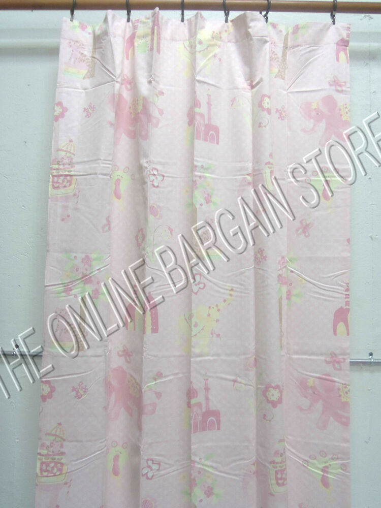 Pottery Barn Kids Baby Layla Spring Curtains Drapes Panels