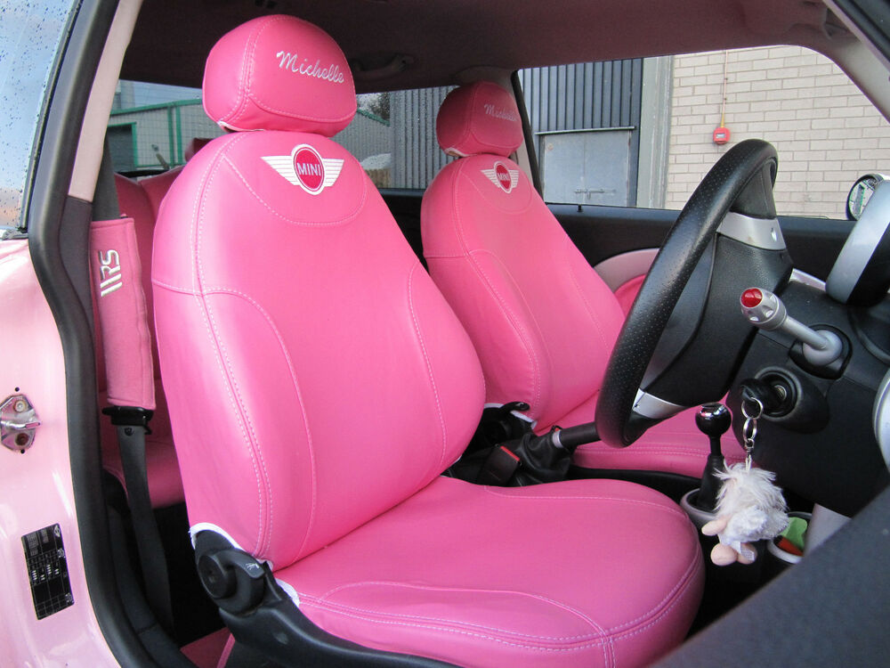 bmw mini cooper car seat covers ebay. Black Bedroom Furniture Sets. Home Design Ideas