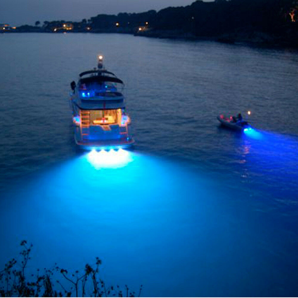 Replace Boat Lights With Led: CREE Bronze 9W LED Marine Light LED Underwater Boat Light