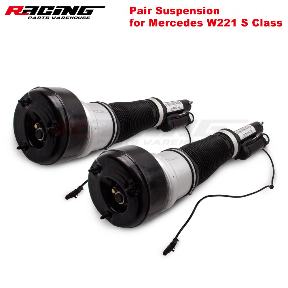Set Of 2 Front Air Suspension Strut For Mercedes S Class