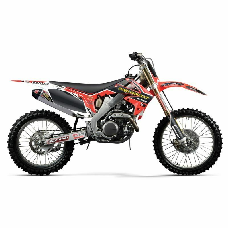 2012 honda crf250r crf 250 n style pro circuit graphics kit seat cover 10 12 ebay. Black Bedroom Furniture Sets. Home Design Ideas