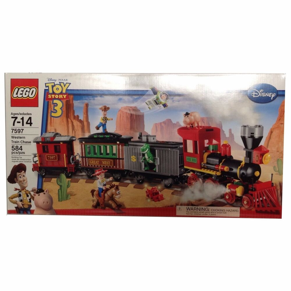 Lego 7597 toy story western train chase new 6 minifigures - Lego toys story ...